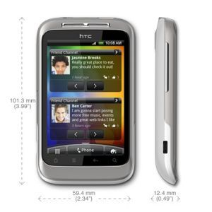 HTC Wildfire S А510е White