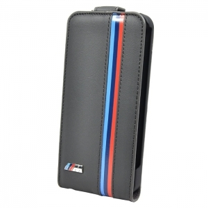 Чехол для iPhone 5 / 5S BMW M-Collection Flip Grey