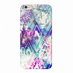 Чехол для Apple iPhone 6/6S Deppa Art Case Flowers Пионы