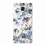 Чехол для Samsung Galaxy A3 (2016) Deppa Art Case Flowers Хризантемы