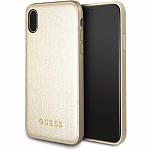 Чехол Guess для iPhone X Iridescent Hard PU Gold