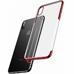 Чехол для iPhone XS Max Baseus Shining Case Red