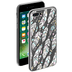 Чехол для Apple iPhone 7 Plus/iPhone 8 Plus Deppa Gel Art Case New Boho Перья