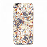 Чехол для Apple iPhone 6/6S Deppa Art Case Flowers Ромашки