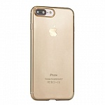 Задняя накладка для Apple iPhone 7 Plus Rock Ultrathin TPU Slim Jacked золотой