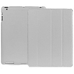 Jison Case Smart Leather Case gray кожаный чехол для iPad 2\3\4