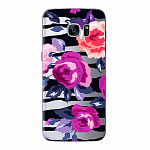 Чехол для Samsung Galaxy S7 edge Deppa Art Case Flowers Розы