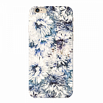 Чехол для Apple iPhone 6/6S Deppa Art Case Flowers Хризантемы