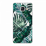 Чехол для Samsung Galaxy A3 (2016) Deppa Art Case Back to summer Листья