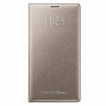 Чехол-книжка Samsung LED Cover для N910 Galaxy Note 4 Gold EF-NN910BEEGRU