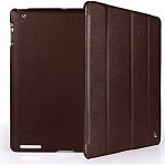 Jison Case Smart Leather Case brown кожаный чехол для iPad 2\3\4