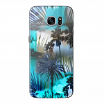 Чехол для Samsung Galaxy S7 edge Deppa Art Case Back to summer Пальмы