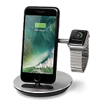 Док-станция Freedy MFI lightning + Apple Watch Charging Stand