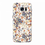 Чехол для Samsung Galaxy S7 edge Deppa Art Case Flowers Ромашки