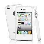 Бампер SGP Neo Hybrid 2S для iPhone 4\4S (white)