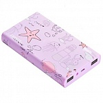 Внешний аккумулятор Hoco Power Bank 13000 mAh Ocean series, Purple