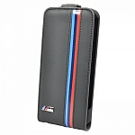 Чехол для iPhone 5/5S BMW M-Collection Flip Perforated