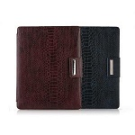 Чехол Zenus Apple iPad2 MASSTIGE ANACONDA FOLDER SERIES (бордо)