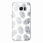 Чехол для Samsung Galaxy S7 edge Deppa Art Case Back to summer Листья 2