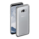 Чехол для Samsung Galaxy S8 Plus Deppa Gel Plus Case (серебристый)