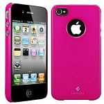 Чехол для iPhone 4\4S SGP Case Ultra Thin Air Pastel Series (малиновый)