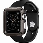 Чехол для Apple Watch 42mm SGP-Spigen Tough Armor Case (SGP11504) стальной