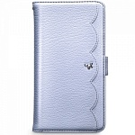 Чехол Zenus Pretty Lace Diary Collection для Samsung Galaxy S4 сиреневый