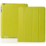 Jison Case Smart Leather Case lime кожаный чехол для iPad 2\iPad 3 new