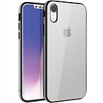 Чехол для iPhone XR Uniq Valencia Clear (серый)