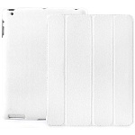 Jison Case Smart Leather Case white кожаный чехол для iPad 2\3\4