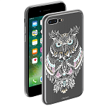 Чехол для Apple iPhone 7 Plus Deppa Gel Art Case New Boho Сова