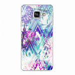 Чехол для Samsung Galaxy A3 (2016) Deppa Art Case Flowers Пионы