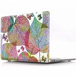 Чехол-накладка i-Blason для Macbook Air 13 (Beautiful heart shapet leaf)