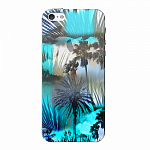 Чехол для Apple iPhone 5/5S/SE Deppa Art Case Back to summer Пальмы
