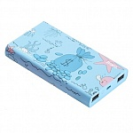 Внешний аккумулятор Hoco Power Bank 13000 mAh Ocean series, Blue