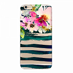 Чехол для Apple iPhone 6/6S Plus Deppa Art Case Flowers Акварель