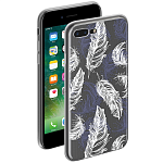 Чехол для Apple iPhone 7 Plus Deppa Gel Art Case  Boho Перья
