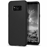 Чехол Spigen SGP для Samsung Galaxy S8 Case Liquid Crystal Matte Black (565CS21613)
