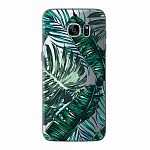 Чехол для Samsung Galaxy S7 edge Deppa Art Case Back to summer Листья
