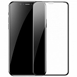 Защитное стекло Baseus Curved-Screen Protector 0.23mm (SGAPIPH65-PE01) для iPhone Xs Max (Black)