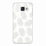 Чехол для Samsung Galaxy A3 (2016) Deppa Art Case Back to summer Листья 2