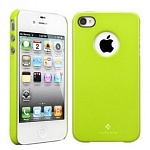 Чехол для iPhone 4/4S SGP Case Ultra Thin Air Pastel Series (салатовый)