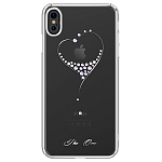 Чехол для iPhone XS Max Swarovski Kingxbar Wish Series Silver