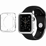Чехол для Apple Watch 42mm Spigen Liquid Crystal Case (SGP11495) прозрачный