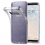 Чехол Spigen SGP для Samsung Galaxy S8 Plus Case Liquid Glitter Crystal Quartz (571CS21669)