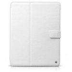 Кожаный чехол для Apple iPad 2\3\4 Zenus Masstige Block Folio (white)