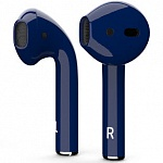 Беспроводные наушники Apple AirPods Custom Colors (gloss dark blue)