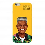 Чехол для Apple iPhone 6/6S Deppa Hipstory Нельсон Мандела