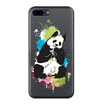 Чехол для Apple iPhone 7 Plus/iPhone 8 Plus Deppa Gel Art Animal Панда