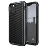 Противоударный чехол для iPhone 11 Pro X-Doria Defense Lux Black carbon fiber